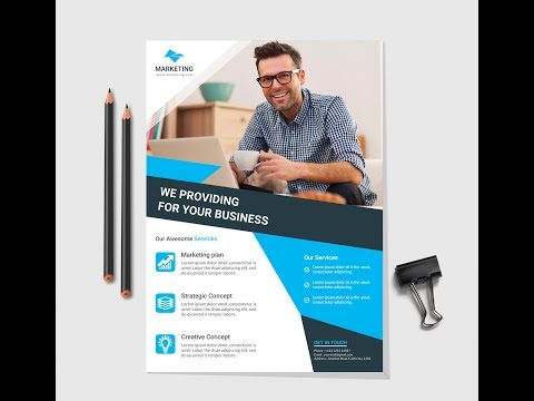 Free Flyer Design Template - How to create a Flyer for your Business Purpose  | Flyer Design