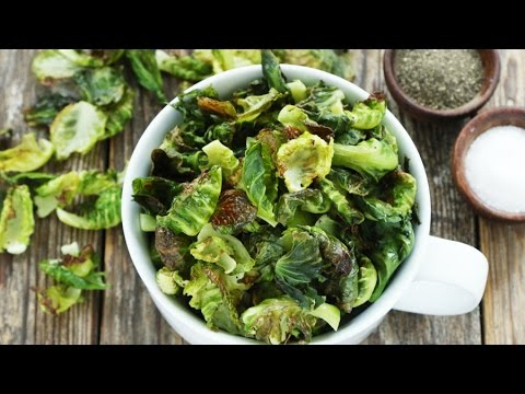 How to Make Roasted Brussels Sprouts Chips