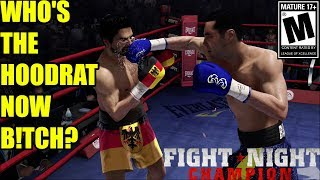 Download #1 RANKED FIGHTER PAYS FOR HIS RACIST REMARKS!!-Fight Night Champion Xbox One Video