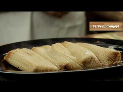 Del Real Foods Tamale Heating Methods