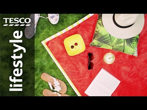 How to make a waterproof picnic blanket | Tesco