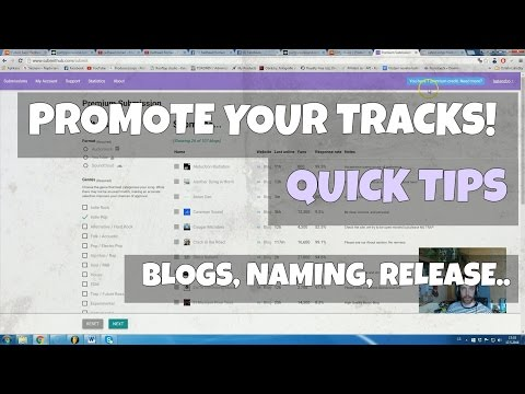 How to EDM: Quick Tips of How to Promote Your Music Online / Social Media / YouTube / Hypem