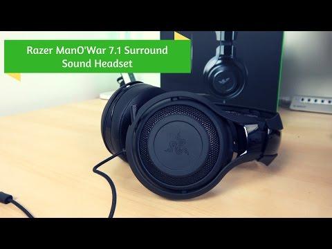 Razer ManO'War 7.1  Surround Sound Headset Review