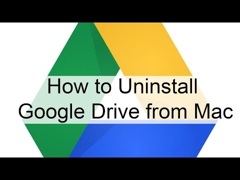 Uninstall Google Drive Completely from your Mac Computer #GoogleDrive #iMac #MacbookPro #MacbookAir