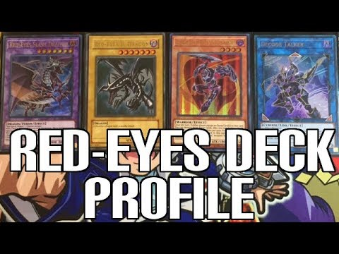 Yu-Gi-Oh! Red-Eyes Black Dragon Deck Profile - Legendary Duelists Support & Link Monsters