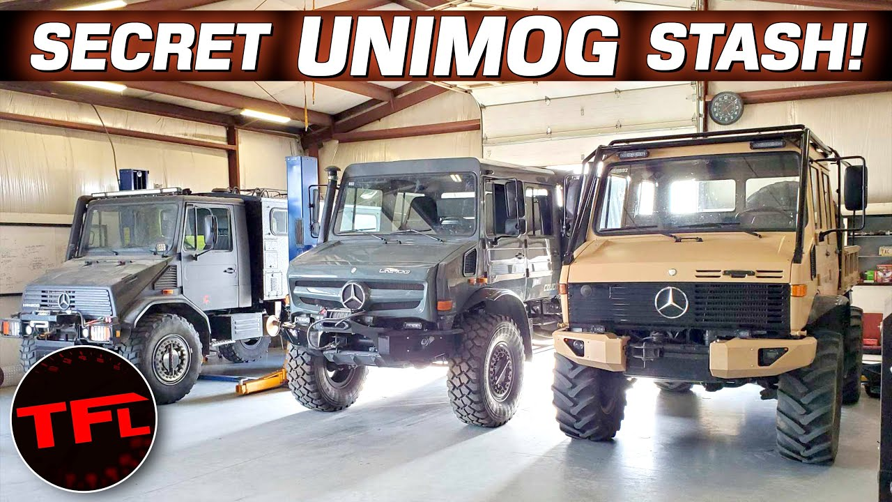 You Won't Believe this Mercedes Unimog Collection & How They Are Transformed into Overland Rigs!