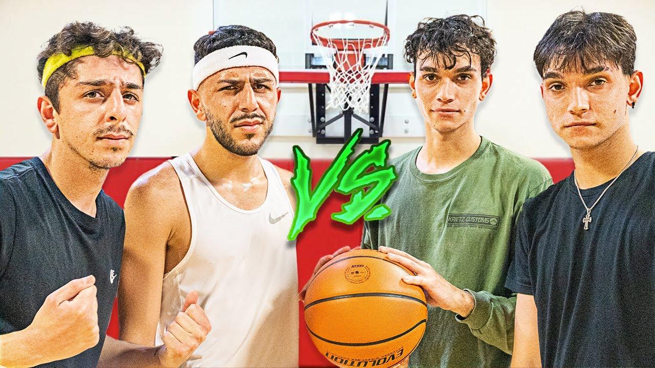 FaZe Rug & Brawadis VS The Dobre Twins! ($50,000 Basketball 2v2)