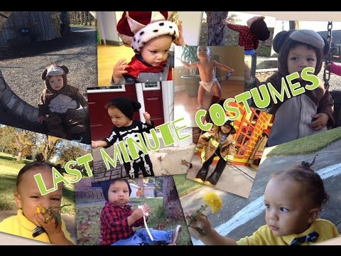 EASY Last Minute Halloween Costume Ideas | Toddler and Kid Halloween Costume DIY