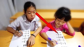 Download Hunter Kids Go To School Learn Colors MATH   Classroom Funny Nursery Rhymes