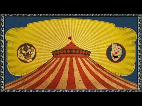 Photoshop Tutorial: PART 1 - How to Make a Vintage, CIRCUS Poster