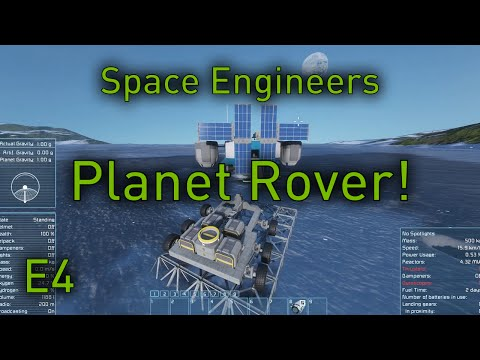 Space Engineers Planets - EP4 - Planet Mining Transport (Space Engineers Planets Gameplay)