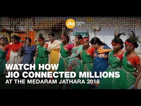 Medaram Jathara 2018: Jio Connects People Digitally