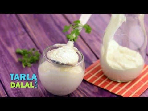 Low-Cal Mayonnaise by Tarla Dalal