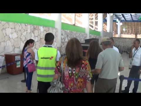 Be Live Collection Punta Cana. Arriving to the Airport.