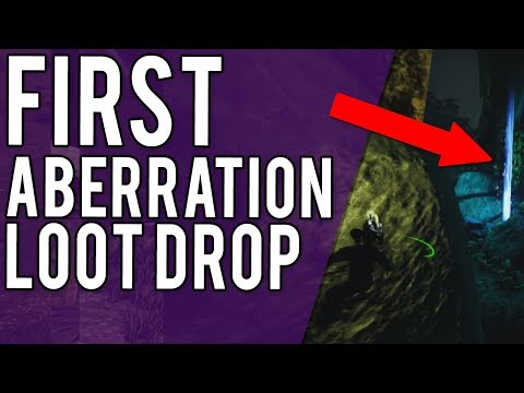 FIRST ABERRATION LOOT DROP & PLANNING - CARTERE CLUSTER ARK PVP PS4 BOOSTED SERVERS - EP 6