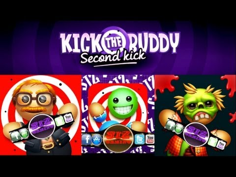Kick The Buddy Second Kick-all gold items review