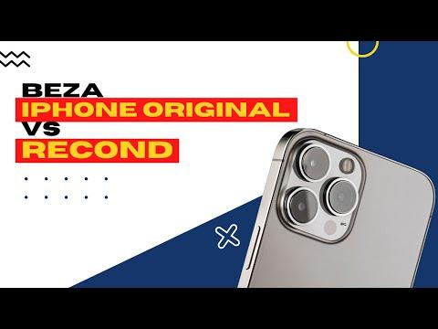 Beza iphone original Apple dan Refurbished Set ( PART1 )