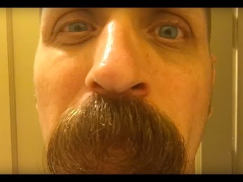 The Making of a Manstash Ben's Mustache Growth for a year and a half