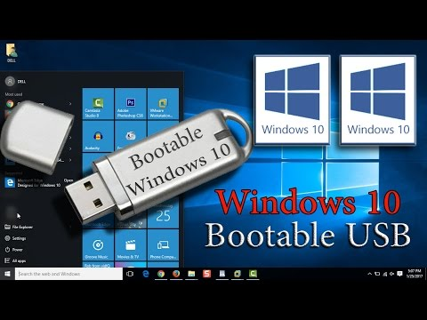 Create Windows 10 Bootable Flash Disk [Step by Step]