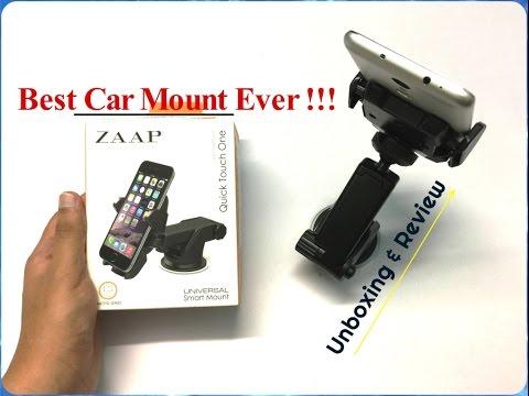 ZAAP Premium Car Mount Unboxing & Overview (INDIA)