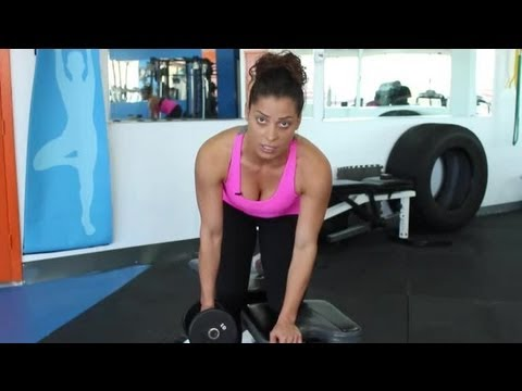 Exercises to Tone Up Arms & Upper Back : Instructional Exercise Tips