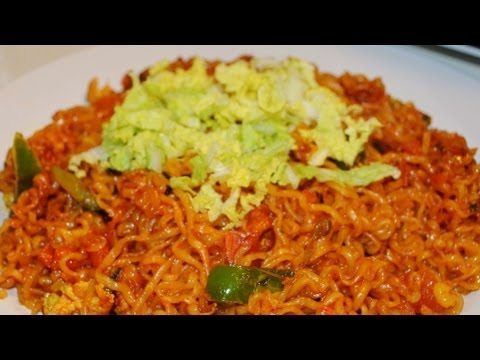 Delicious Korean Ramen Noodles Recipe - Nepali Style - Spicy Nepali Food Recipe!