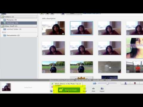 How to Upload Videos to a Google Picasa Album : Tech Tips for Social Media
