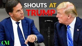 """""""NO!!!"""" Dutch Prime Minister TELLS OFF TRUMP Right To His Face (Body Language Breakdown)"""