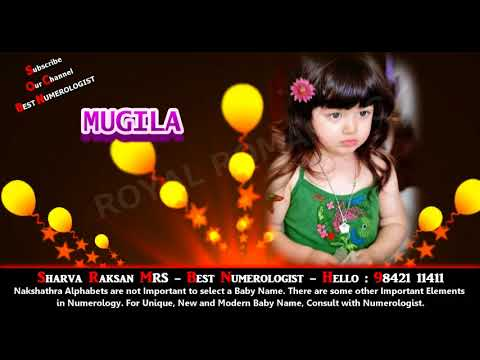 GIRL BABY NAME - 3 - MODERN NEW LATEST TOP HINDU INDIAN TAMIL GODDESS BEST NUMEROLOGIST - 9842111411