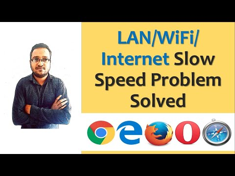 Slow internet Connection Problem Solved in hindi/WiFi connection slow problem