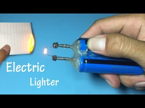 How to make a mini electric lighter , The useful tool , Good idea