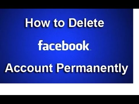 How To Delete Your Facebook Account Permanently In Hindi