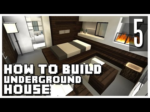 How to Build an Underground House in Minecraft - Part 5