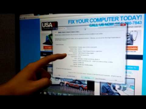 Tech Tips 14: How to check your computer system information!