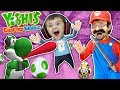 YOSHI EATS SHAWN Yoshi39s Crafted World Plays W FGTEEV Mario SkitGameplay