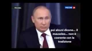 Putin sul comunismo. Путин о коммунизме.