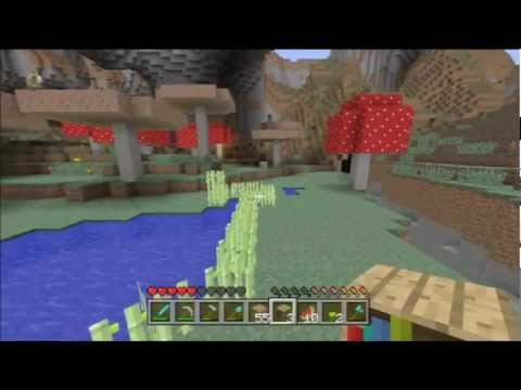 Minecraft Xbox 360 1.8.2 #30 - How to Enchant, Making an Enchanting Table Room
