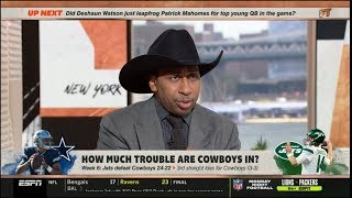 ESPN FIRST TAKE - Stephen A. Smith Disappointed after Cowboy loss to Jets in Dallas
