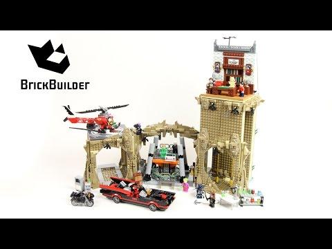 Lego Super Heroes 76052 Batman Classic TV Series - Batcave - Lego Speed Build