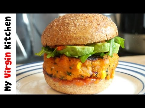 VEGAN SWEET POTATO BURGER RECIPE