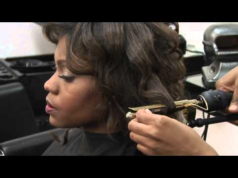 How to Get Tight Curls for a Straight Weave : Styling & Curling Hair