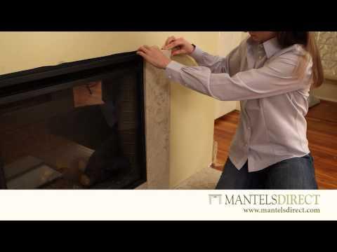 Stone Facing Kit | Installation | MantelsDirect.com