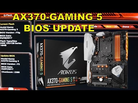How to Update/Flash the Gigabyte Aorus AX370 Gaming 5 BIOS, Why Bios updates are important