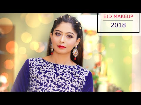 SIMPLE AND EASY EID MAKEUP LOOK 2018 (Teenager Special)