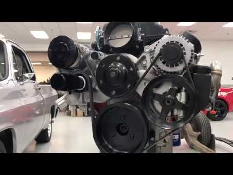 Holley Mid-Mount Accessory Drive FB Live Video