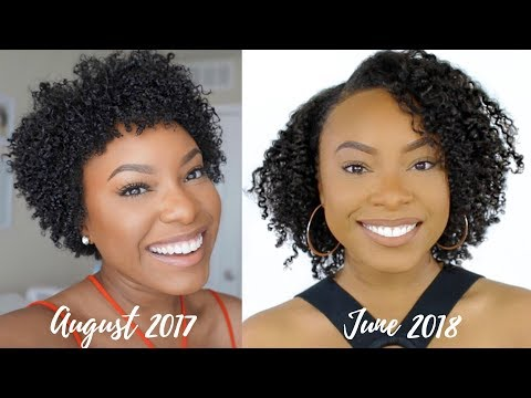 How to Grow Longer Hair FAST (Tips that REALLY WORK)!! | Big Chop #2 Update + Length Check