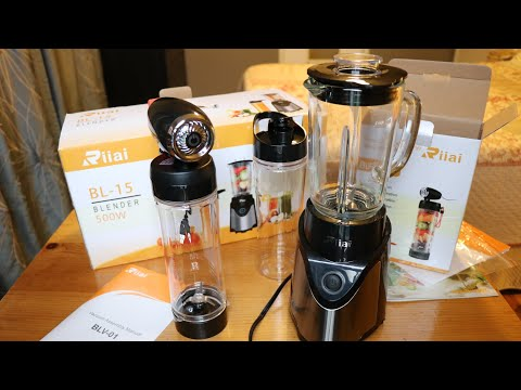 Unboxing & Demo - Riiai Blender BL-15 + Vacuum Assembly