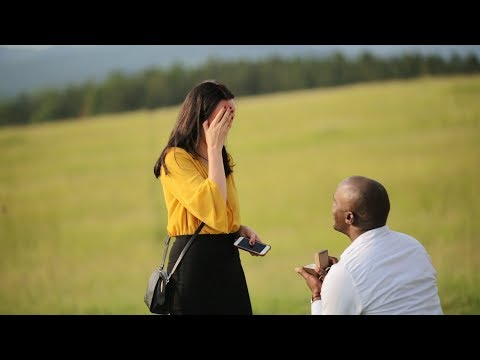 Veronika and George / marriage proposal
