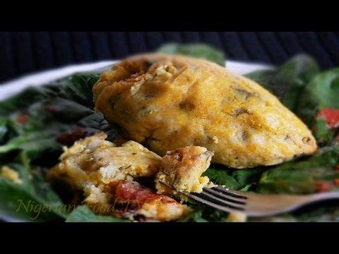 Corn Moi moi (Nri Oka / Ekoki)- Nigerian Tamales