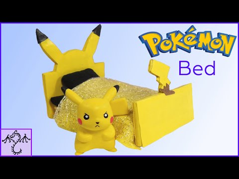 How to Make a Pikachu Pokemon Toy Bed
